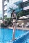 Real Yasmin Marina Dubai Escort Girl Cum On Ass
